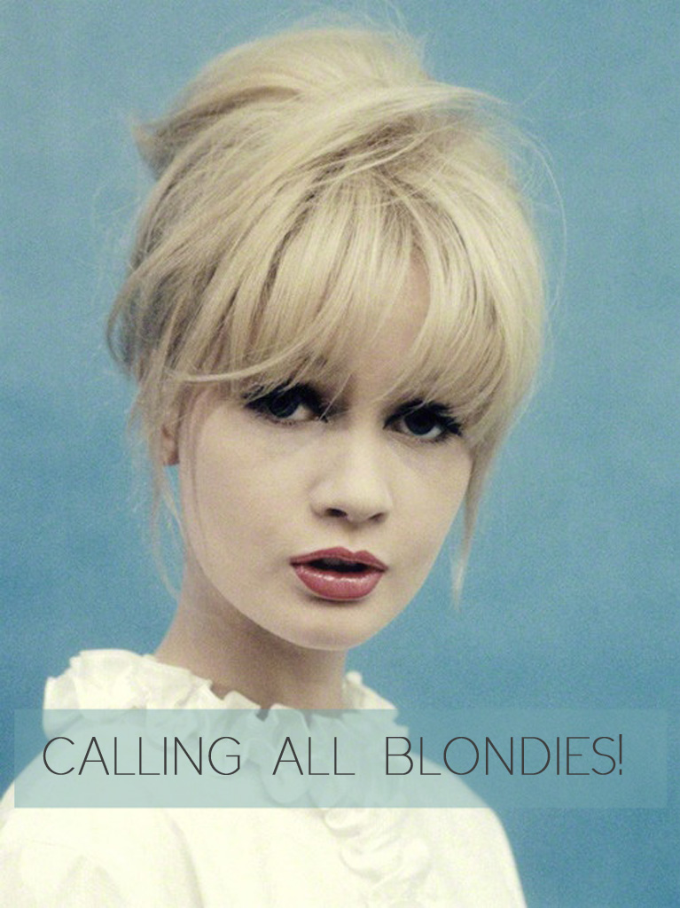 Calling all Blondies